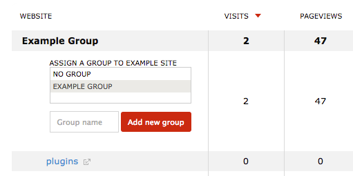 WebsiteGroups