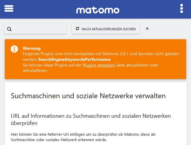 2019-04-29-Matomo-SearchEngineKeywordsPerformance-compatiblity-error