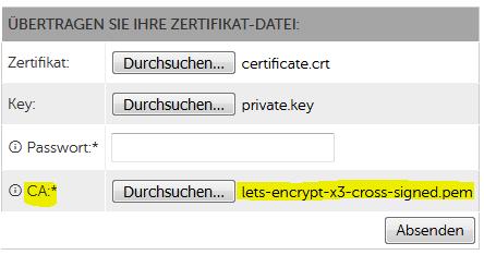 hosteurope-zertifikatangaben
